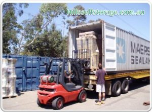 Container for commercial storage facility in Sydney