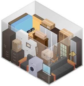 Personal Self Storage Unit