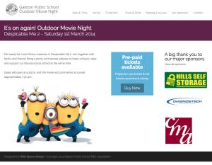 Hills Self Storage Sponsors Galston Public School Movie Night Again