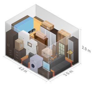 Personal Storage 3D Visuals