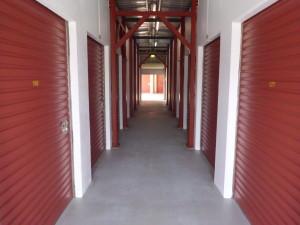 Freshly Painted Hallways at Hills Self Storage Kings Park near Blacktown