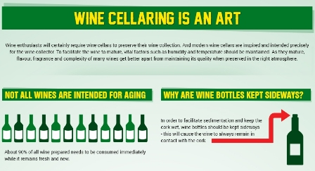 wine cellaring infographic