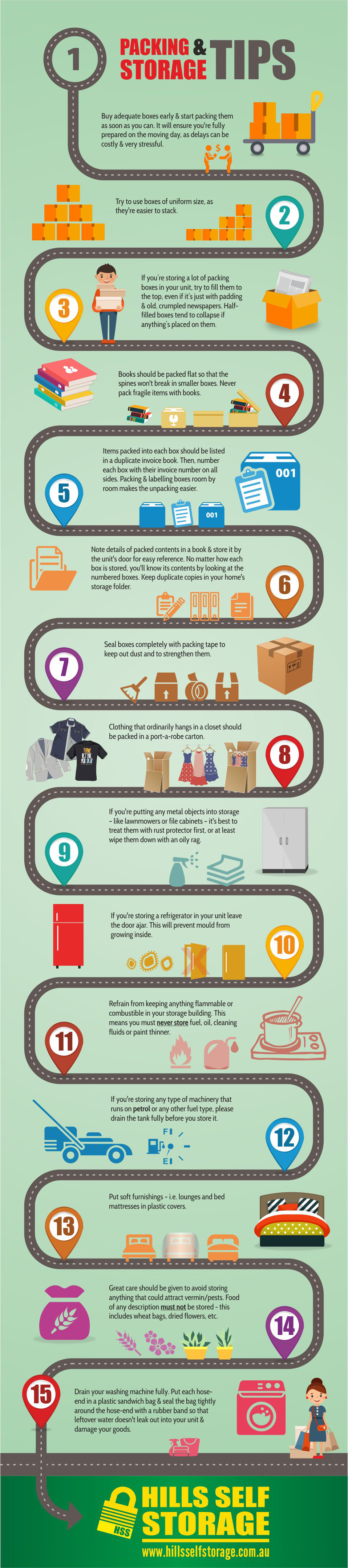 Packing & Storage Tips