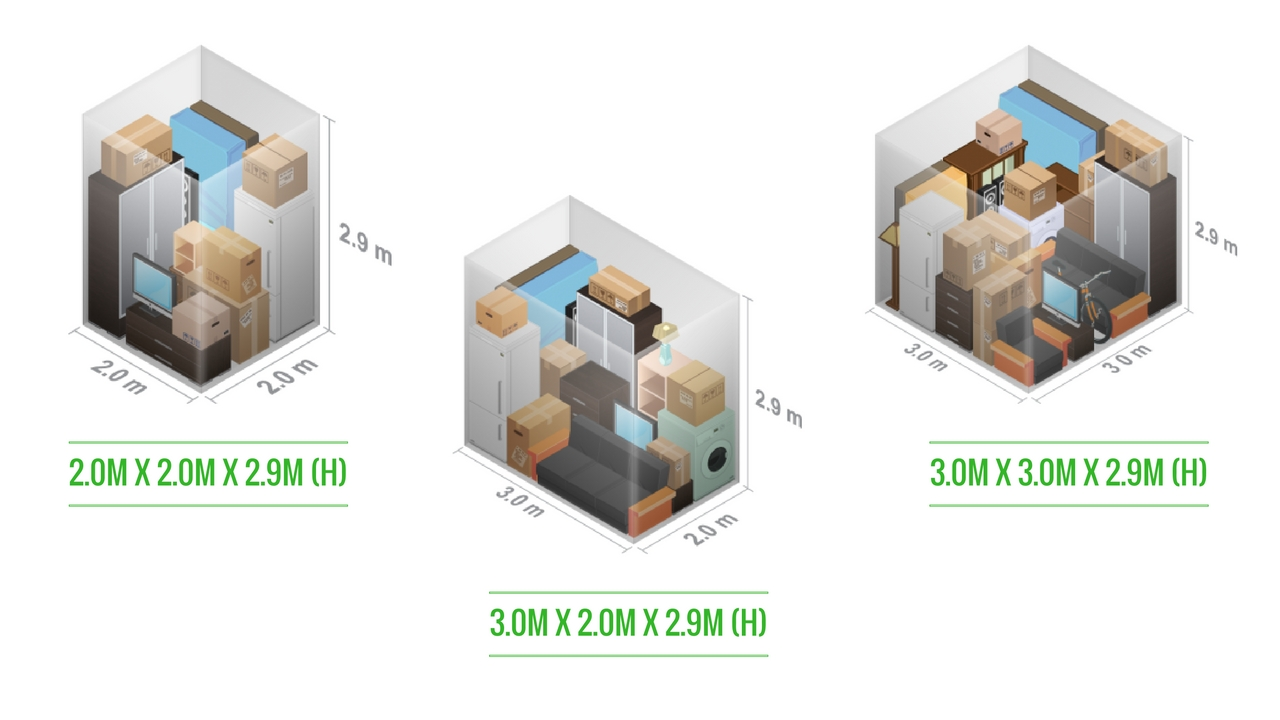 Small Sized Storage Units