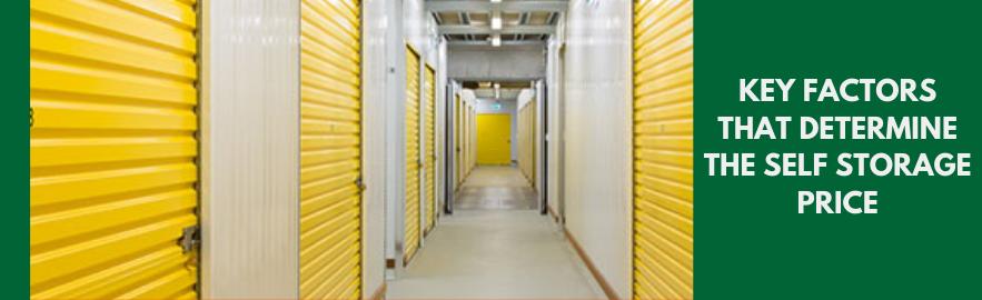 Key factors that determine the Self Storage Price_