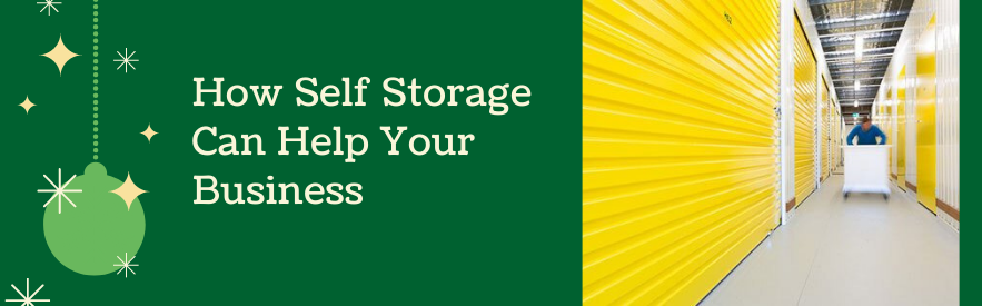 How Self Storage Can Help Your Business